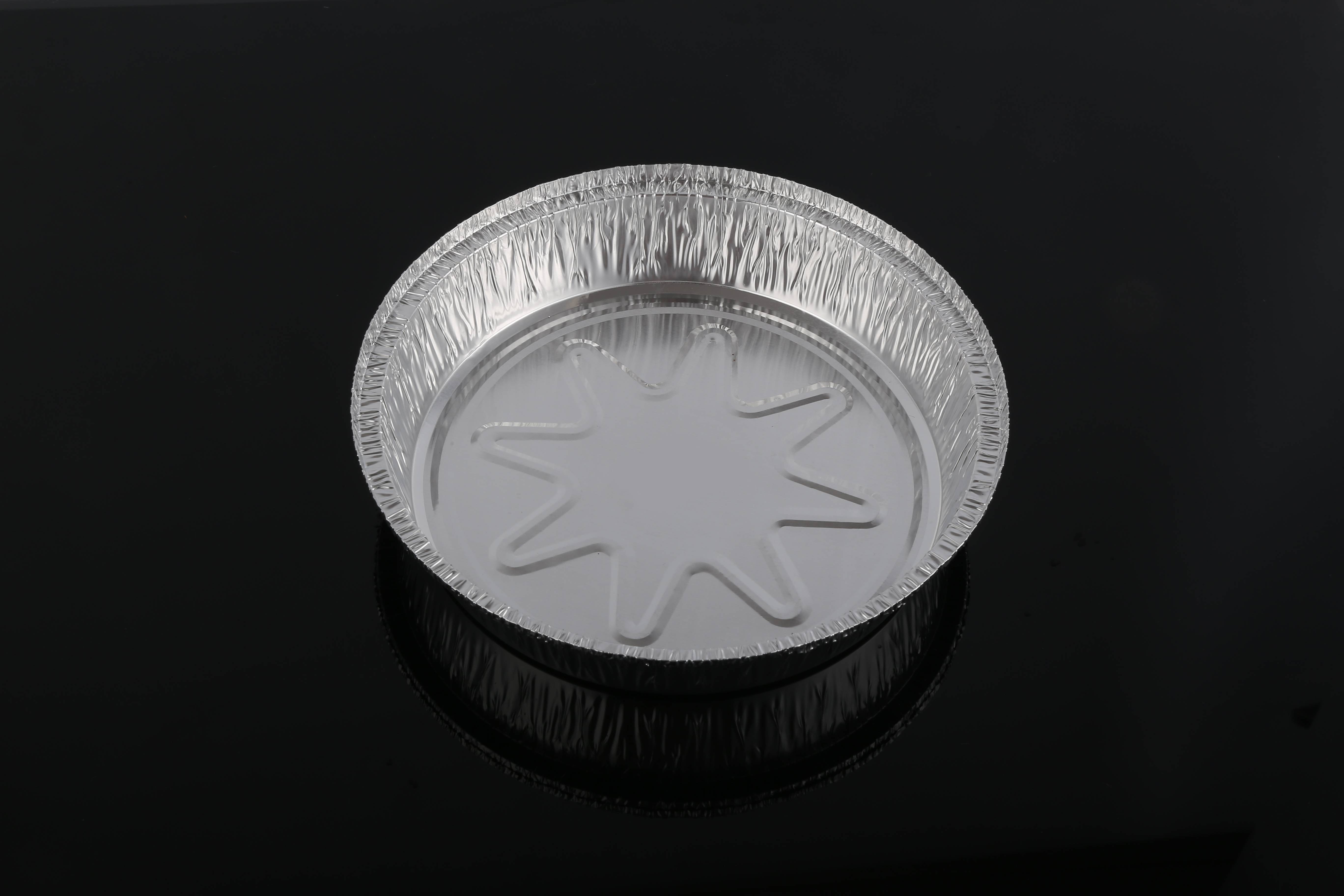 aluminum container 8 inches round pan take-out