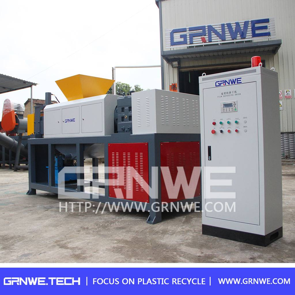 Easy operation pe film drying machine