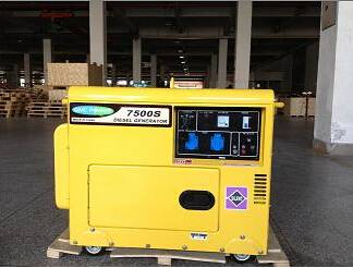 5kw Single Phase / Three Phase Silent Type Diesel Generator for Home
