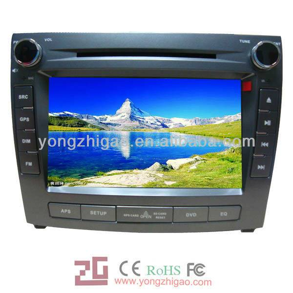 """8"""" car dvd gps navigation for BYD-L3 with entertainment function"""