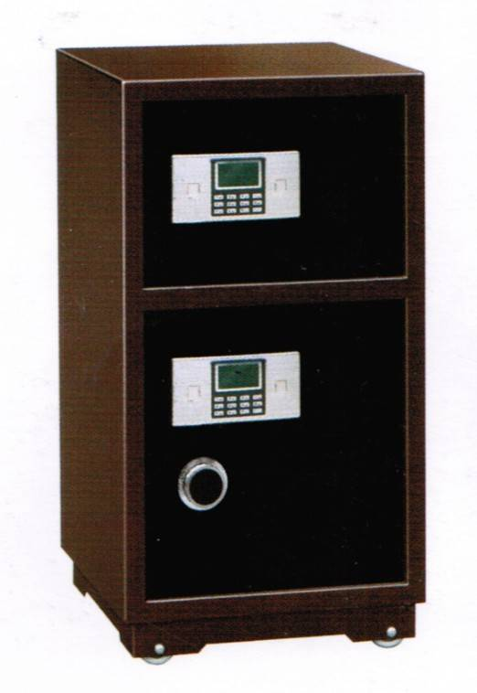 Double doors electronic safebox