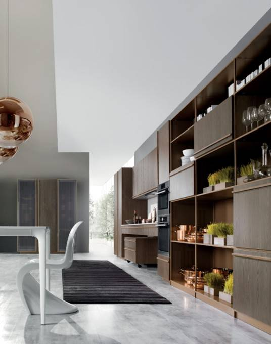 Welbom Modern E1 Standard of Solid Wood Kitchen Cabinets