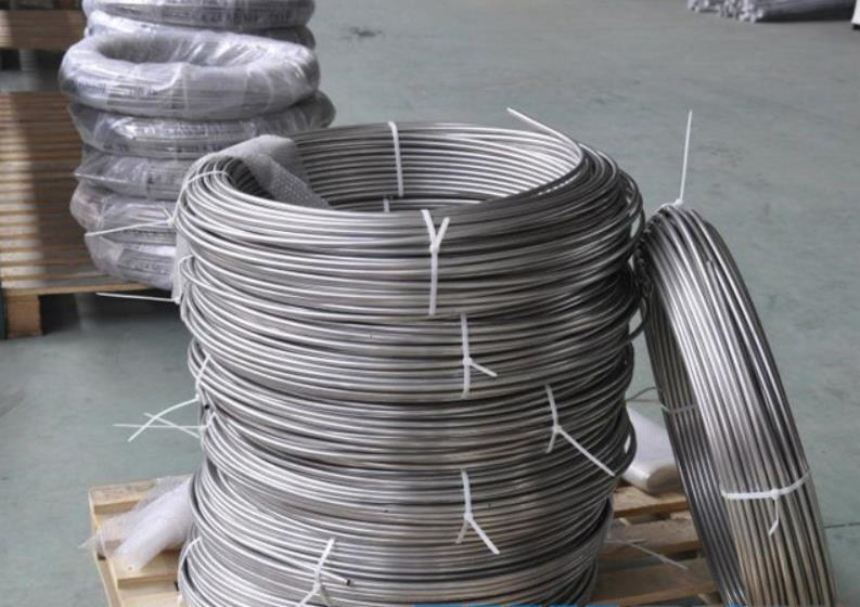 ASTM A312 TP304L Small Diameter Seamless Stainless Steel Tube Coil Tubing in Coils