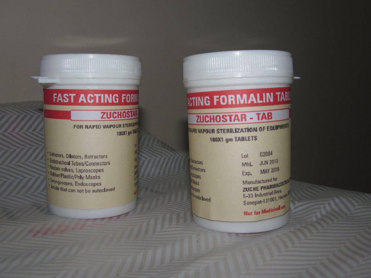 Formalin 1 gm disinfectant