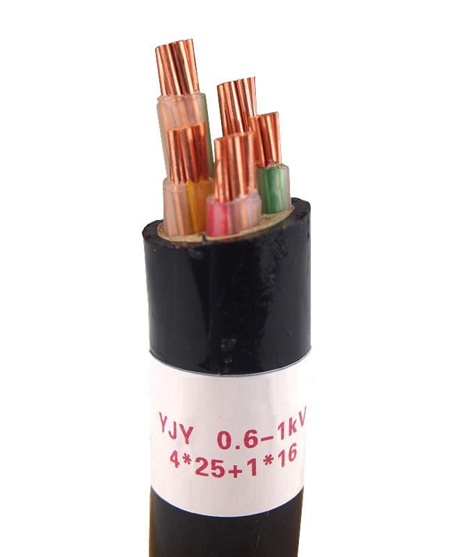 YJY 0.6-1KV 4X25+1X16