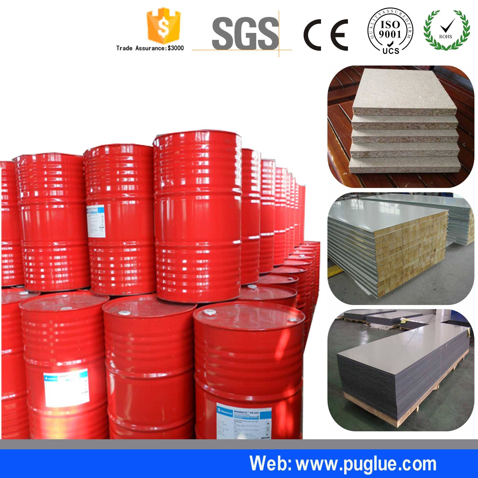 Liquid glue for two-component polyurethane pu adhesive glue for aluminum
