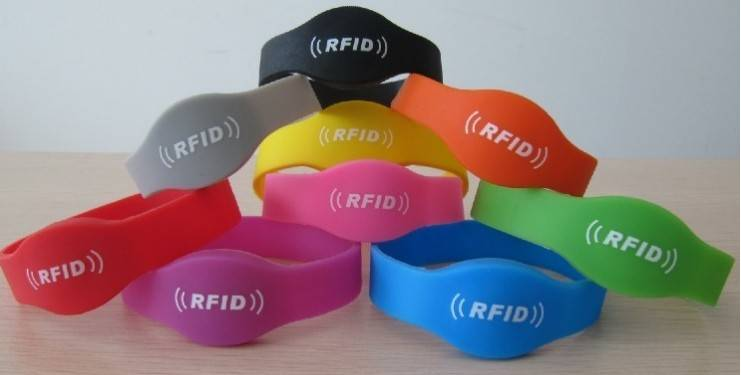Personalised RFID Wrist Band 13.56 MHz and 125 KHz