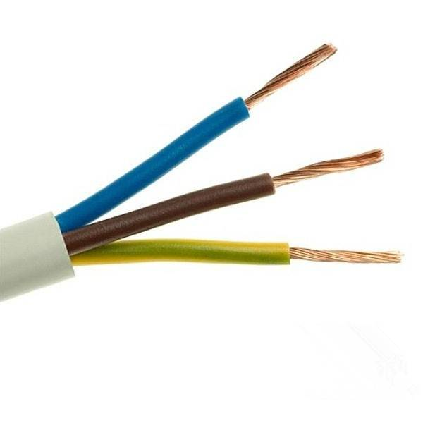 Flexible Cable 300/500V RVV3*1.5sqmm