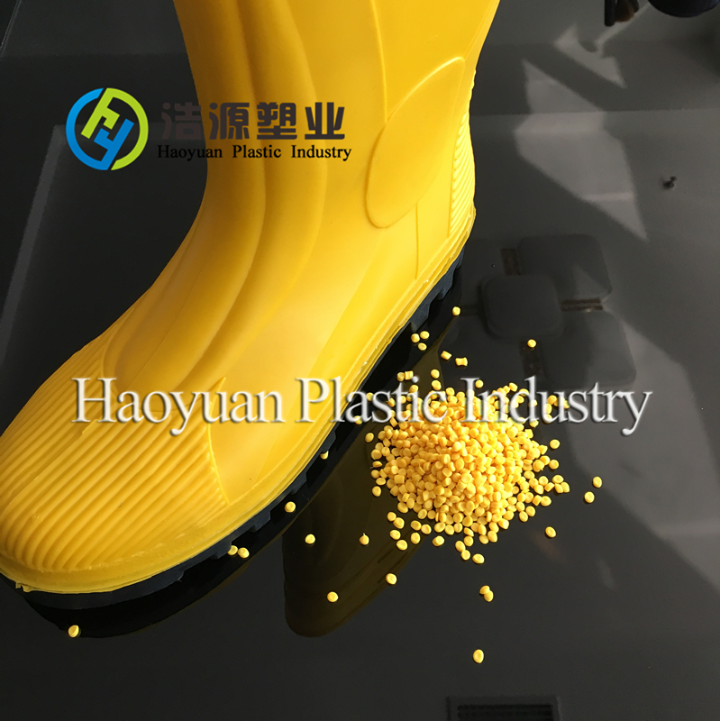 virgin PVC footwear materials for child waterproof boots