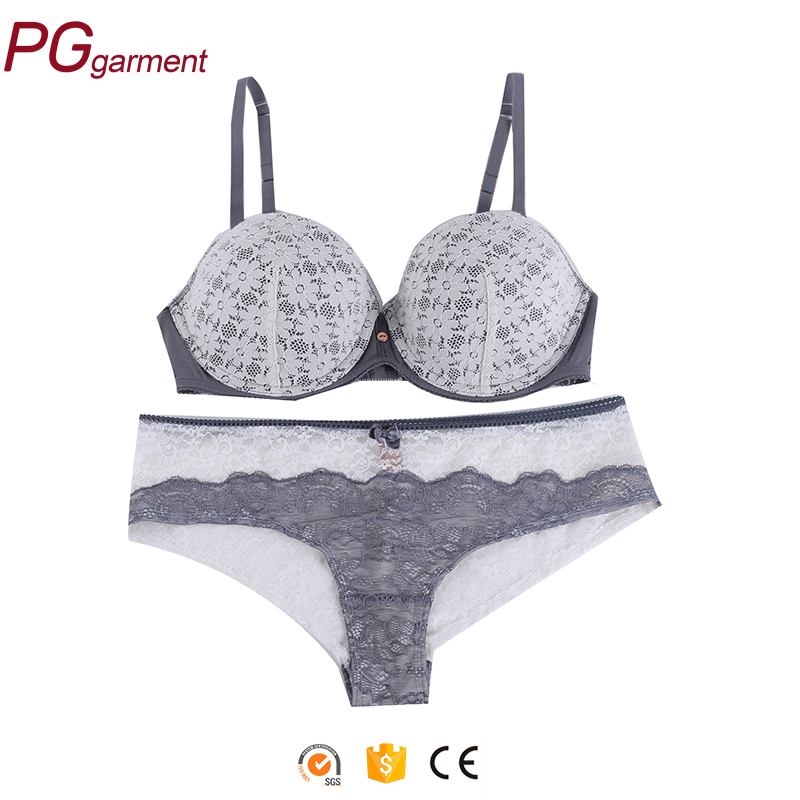 hot designer beautiful high quality wholesale stylish hot fancy bra panty set photo sexy bra panty