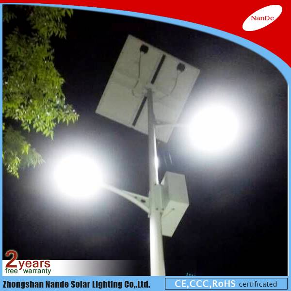 2016 Nande solar street LED light with Government projects