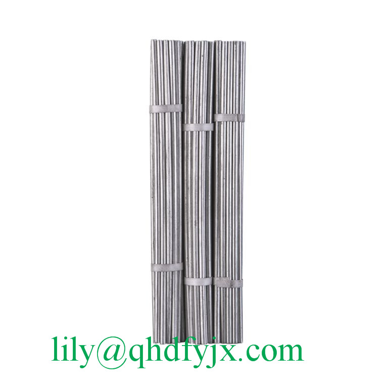 3/0.15 Titanium Carbon Aluminum Rod / Stick for Aluminum Foil