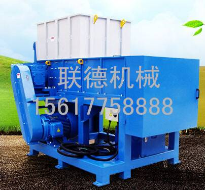 single shaft shredding machine
