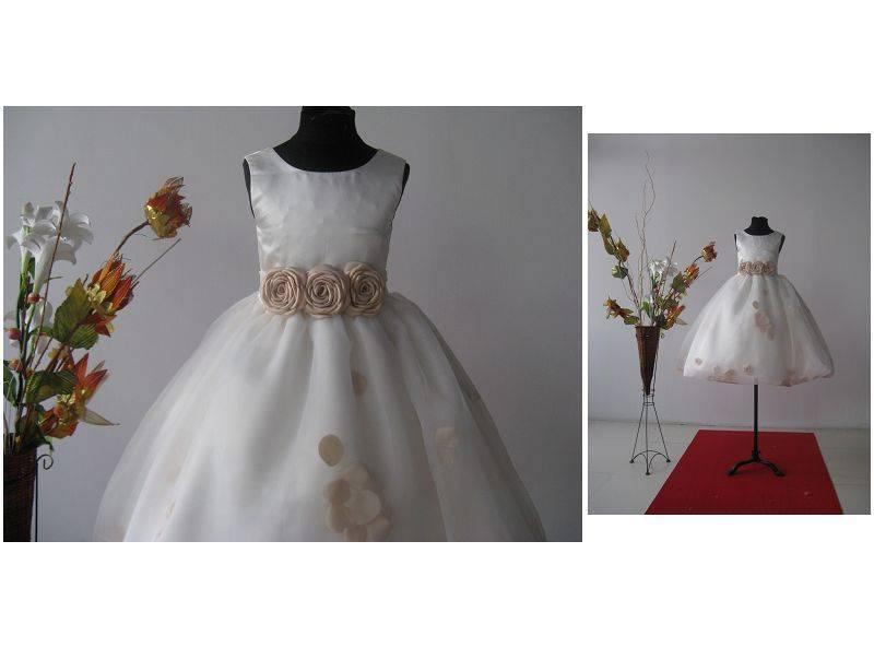 FOL real made  flowergirl dress