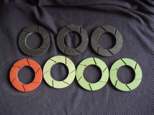 "3""Edge polishing pad"