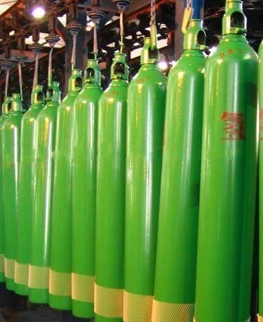 H2 hydrogen gas cylinder