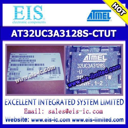 AT32UC3A3128S-CTUT - ATMEL - AVR32 32-Bit Microcontroller