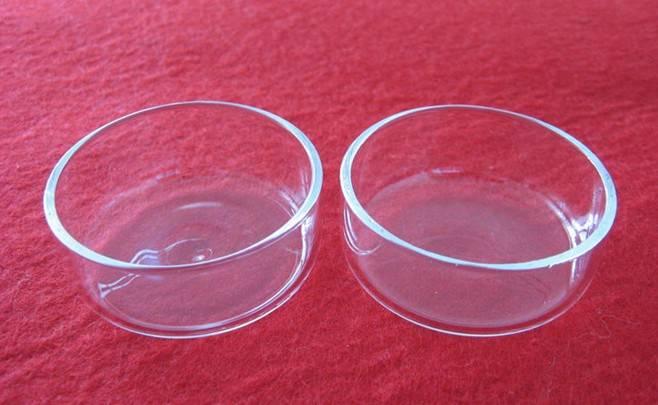 quartz Petri dish