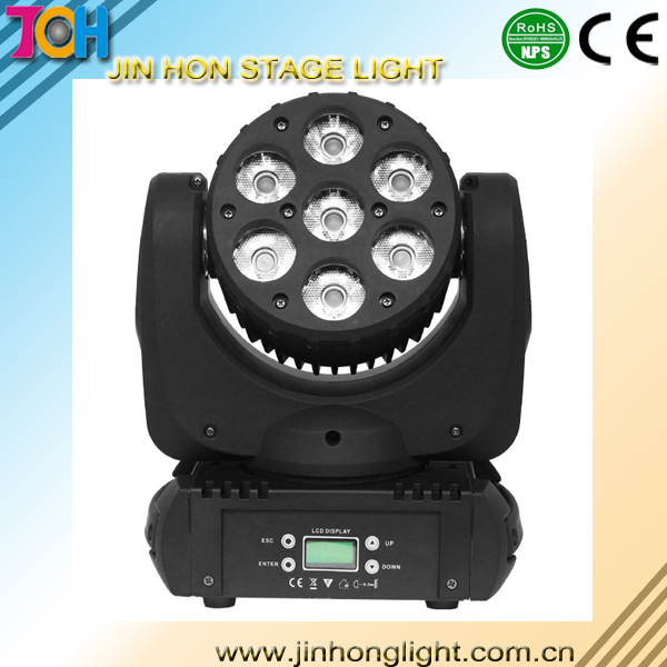 7X12W LED Moving Head Light Beam light