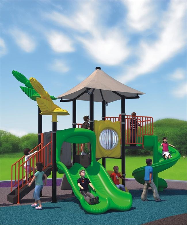 Attractive wonderful nice outdoor plastic playground equipment
