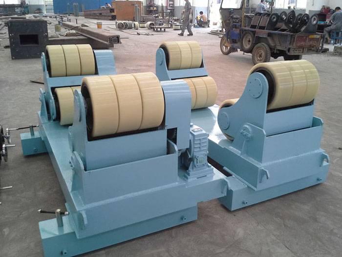 Welding turning rolls