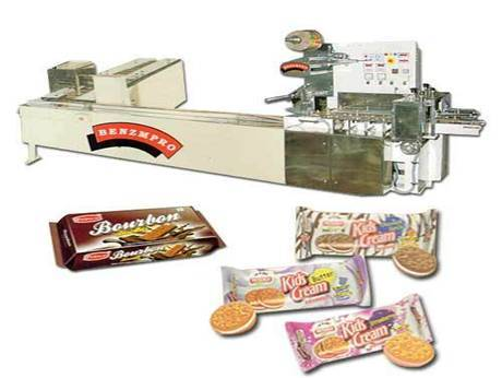 On Edge Machine with Cream Biscuit Feeders