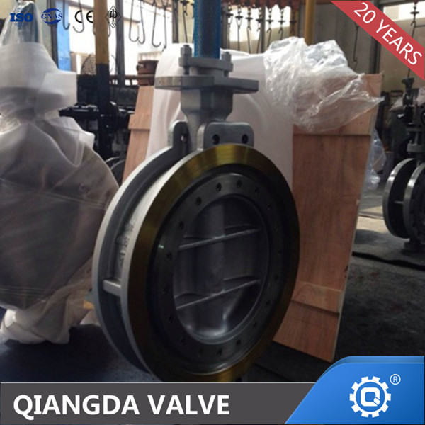 TRIPLE OFFSET A216 WCB FLANGED BUTTERFLY VALVE