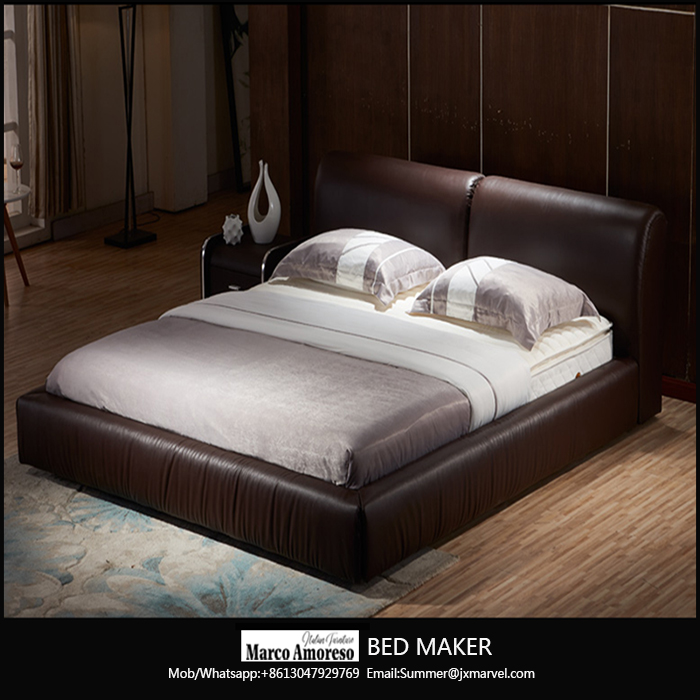 leather bed frame queen home furniture bedroom modern leather bed frame king bed