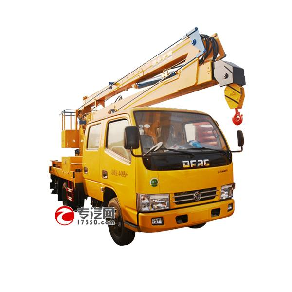 DongFengDuoLiKa 13.5m folding arm high-altitude operation truck