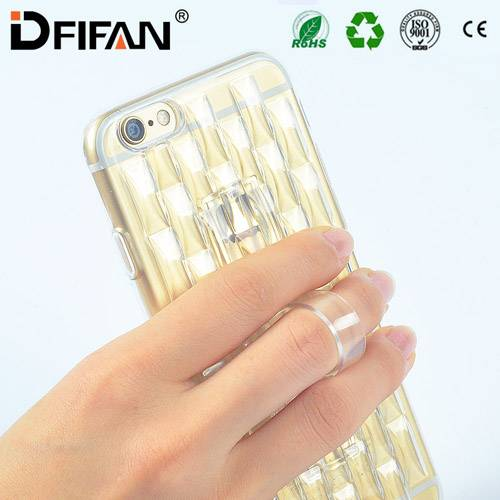New design phone case cover for iphone 6 with invisible kickstanf