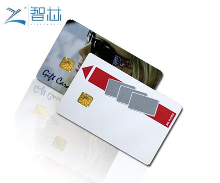 Printable SEL 5542 ,5528 Contact IC Card China Factory
