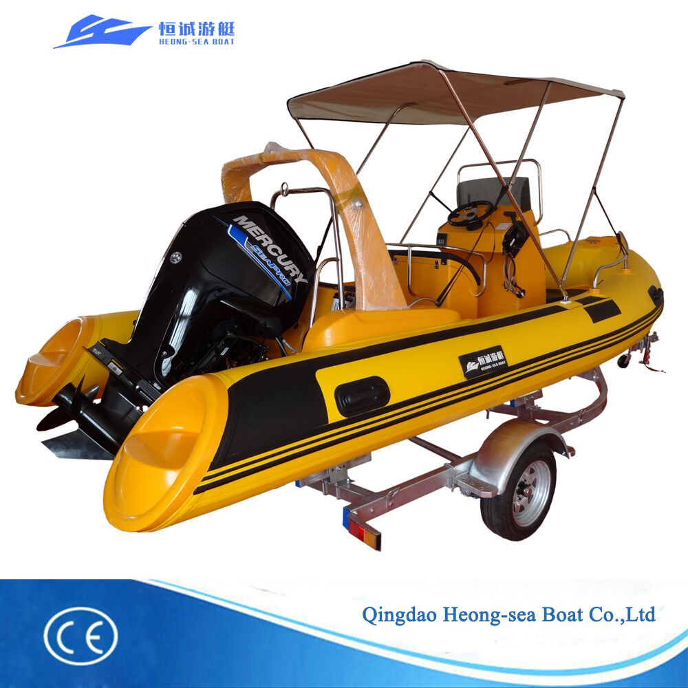 Best selling rib boats rib-520 with CE certificates for sale
