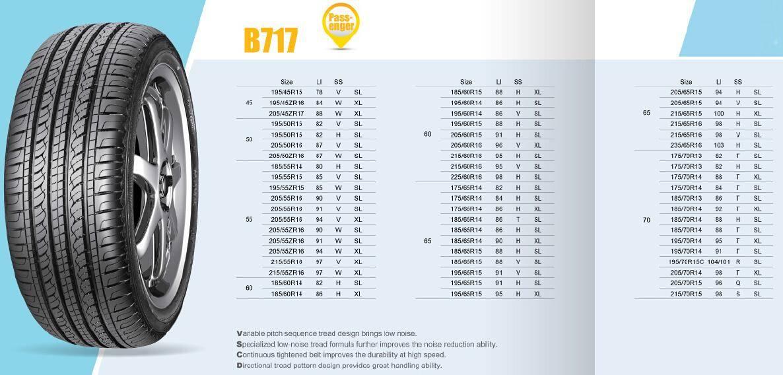 PCR Tire Commercial Car B717