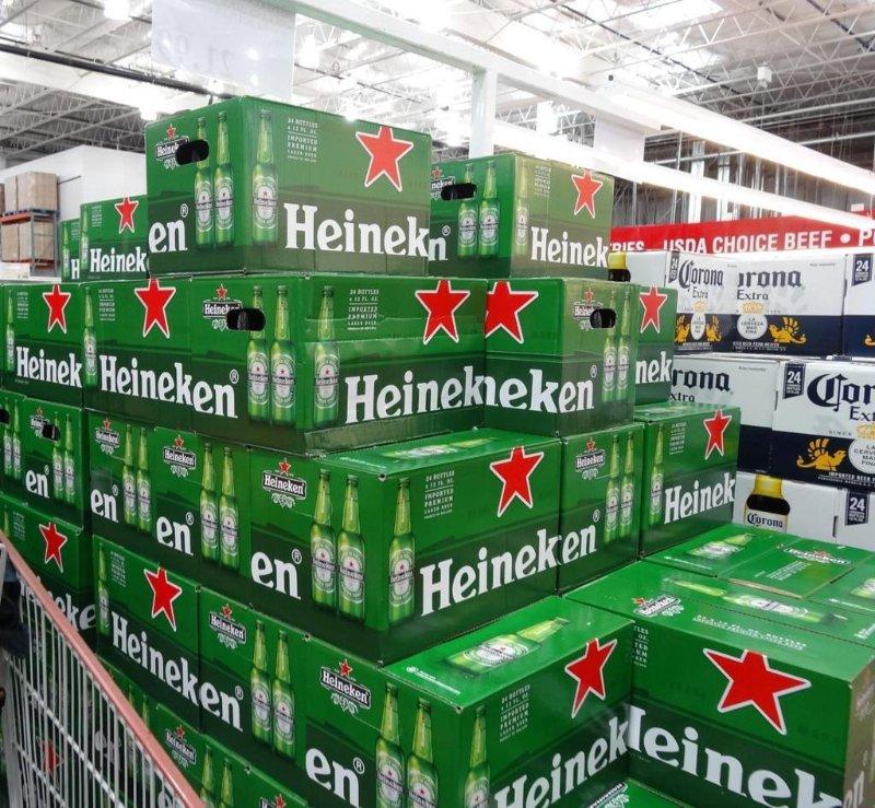 Premium Dutch Heineken Beer 250ml, 330ml and 500ml