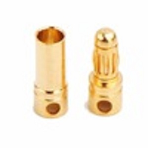 Amass 40amps bullet connector banana plug ,AM-1001A high current banana plug