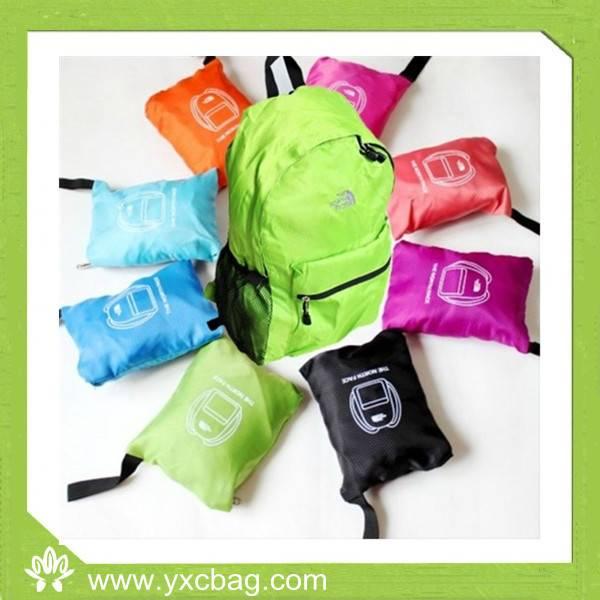 Foldable Backpack Double Shoulder Backpack
