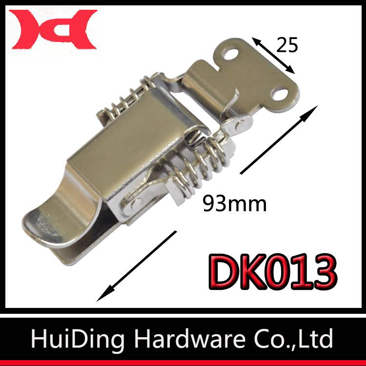 huiding DK013 metal toggle latch two springs catch hasp for box (can be customed)