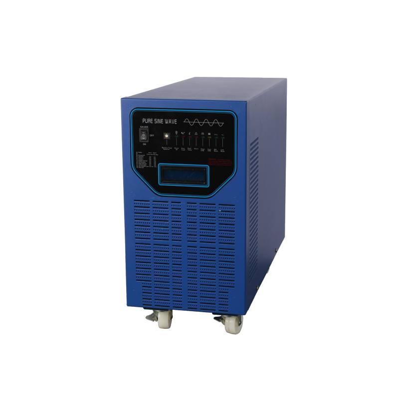 Off Grid 5000W 24V DC 110V/220V AC Solar Hybrid Inverter Combined 40A/60A MPPT Charge Controller