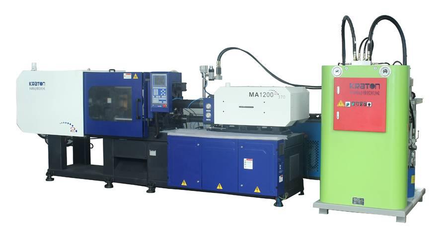 KRATON horizontal LSR injeciton molding machine