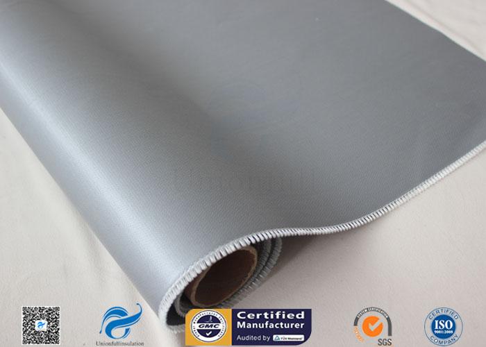 Satin Weave 260 Degrees Silicone Coated Fiberglass Fabric