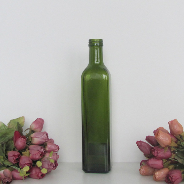 High quality olive oil glass bottle