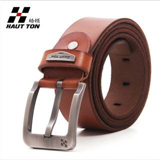 New Design Black Man Leather Belts Wholesale ZK016