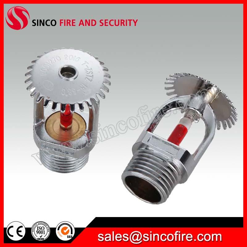 "1/2"" Standard response chrome finished fire sprinkler heads"