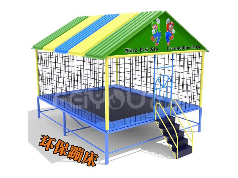 The Adult Trampoline Floor Park Fitness Price For Sale FY827801