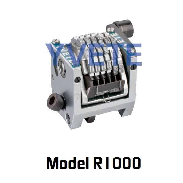 Small frame rotary numbering machine