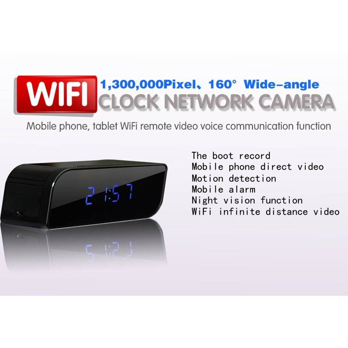 HD1080P P2P Wifi Pinhole Hidden Cameras Security cameras