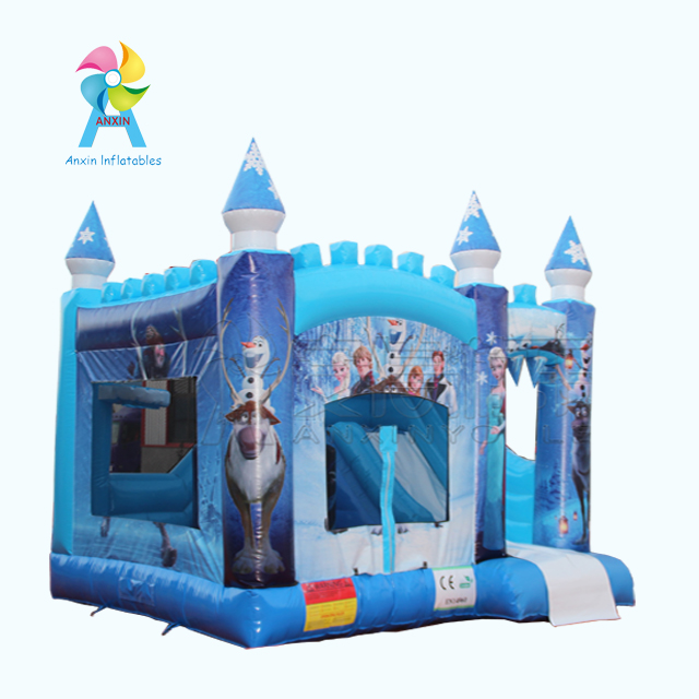 inflatable Frozen style bouncer fairy tale world children bouncy castle playground