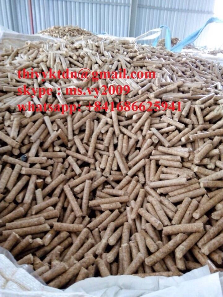 wood pellet using boiler heating