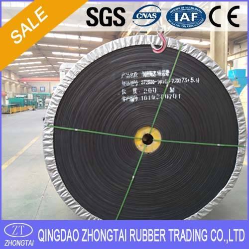 Heavy Duty Good Quality Steel Cord Rubber Conveyor Belts