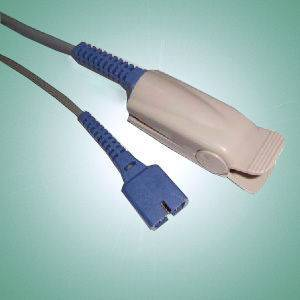 P9119-Nellcor adult finger SpO2 sensor,1m,DB9-imported LED and PD-one year warranty